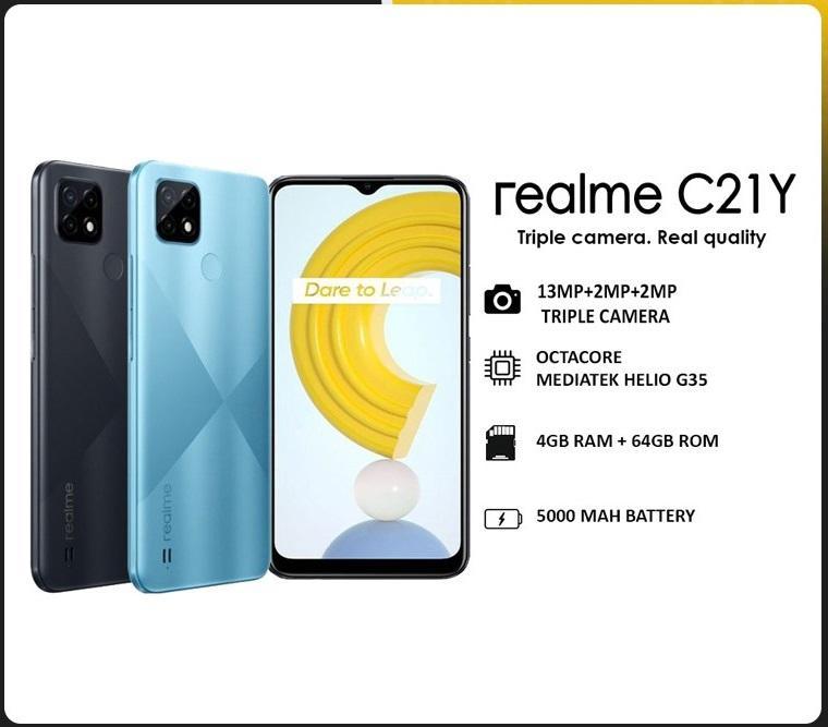 REALME C21y (4GB+64GB)