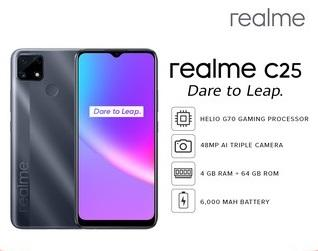 Realme C25 (4GB+64GB)